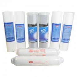 8 Filter 1 Jahres-Filtersatz für 5-Stufige Umkehrosmose