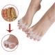 1 Paar Silikon Zehentrenner Zehenspreizer Zehenkorrektur Zehen Bandage