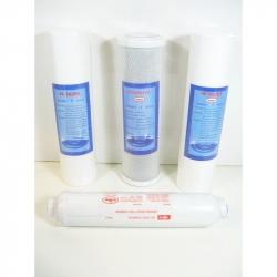 4 Filter 1/2 Jahres-Filtersatz für 5-Stufiges System